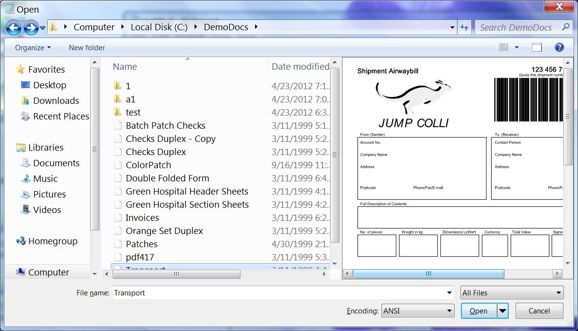 PDF Preview for Windows 7 / Vista / XP / 2008 (PDF Preview